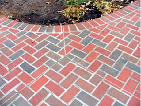 Brick Patio Entry