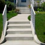 Concrete Entryway